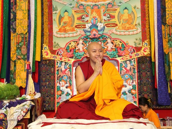 H.H. ZONG RINPOCHE IN SINGAPORE